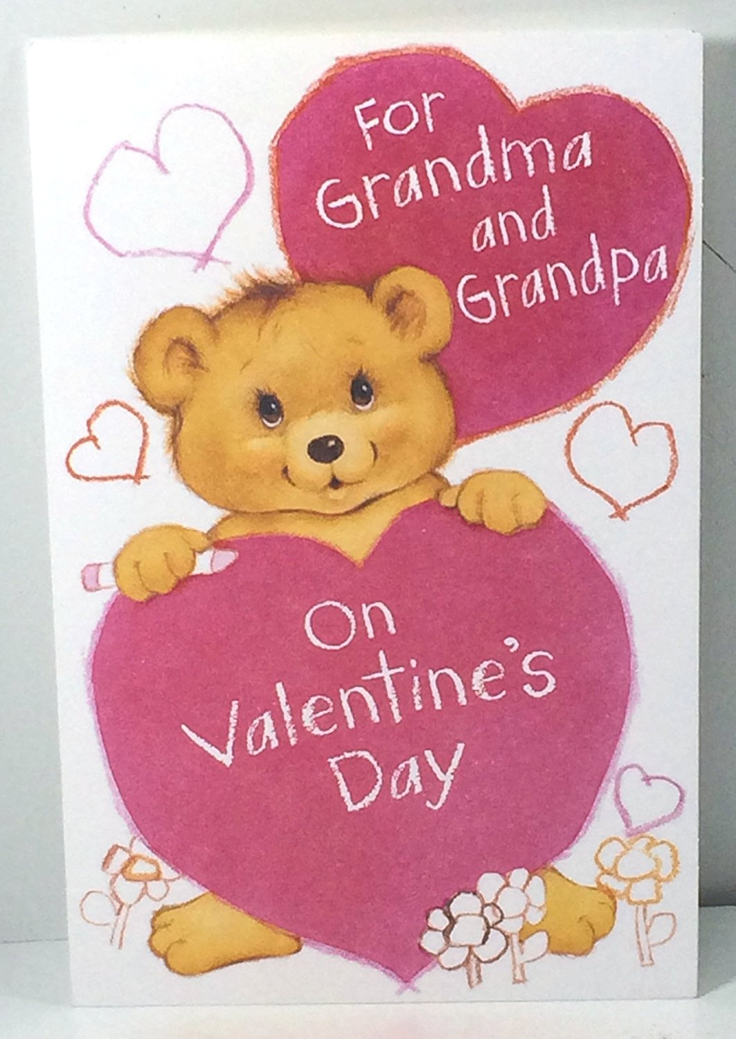 Buy Valentine Card Grandparents From Grandkids For Grandma And