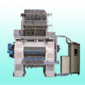 High and low loop pile computer jacquard carpet tufting machine