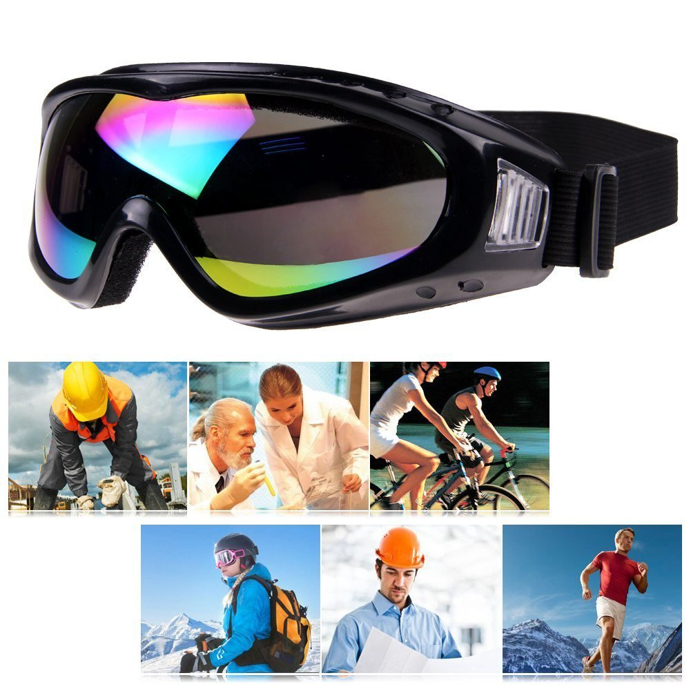 51ffe43e9375 Get Quotations · Goggles goggles pilot goggles professional Lens glasses  Protection for Ski Snowboarding Anti Fog Goggles Eyewear goggles
