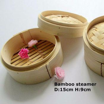 bamboo steamer basket mini bun steamer handmade chinese food steamer