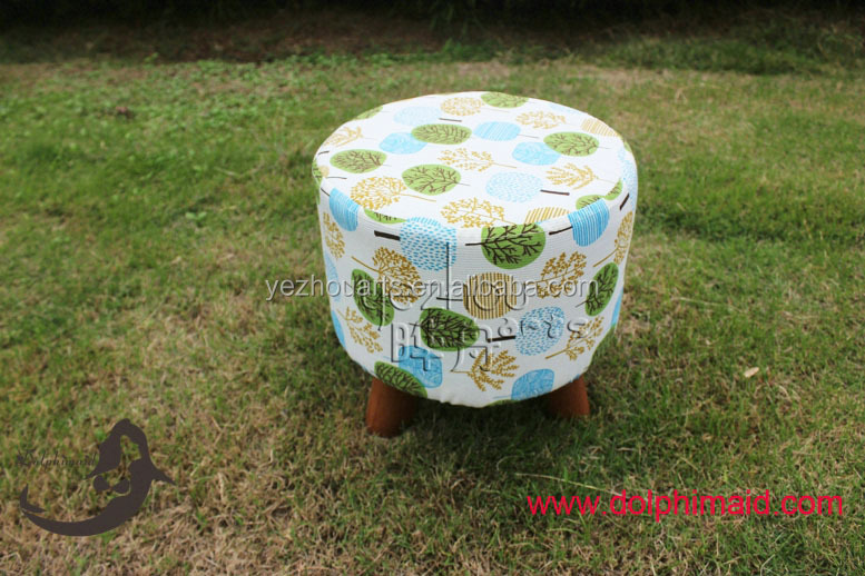 newest style customized design of poufs ottoman for open seating area