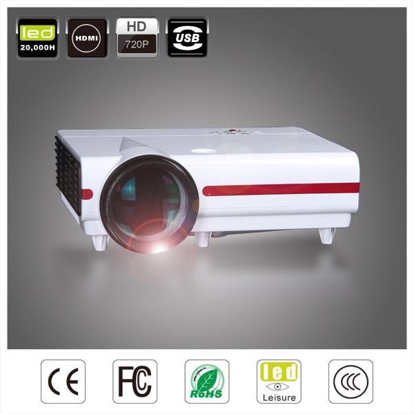 CRE projector x1500 LED 720p mini led beamer/proyectors led