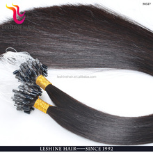 100% remy Human cuticles Hair Italian Keratin top quality double drawn indian remy stick tip hair for reseller