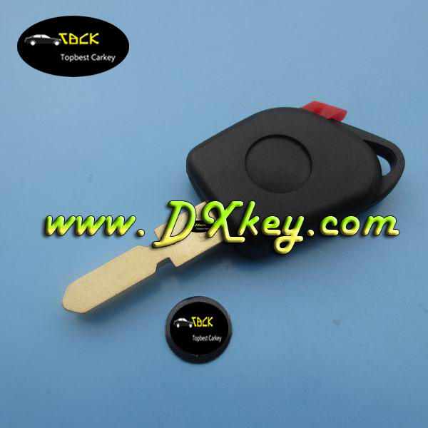 Rock Bottom Price car key housing for peugeot key with red plug transponder key