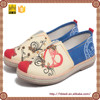 wholesale cheap printed flat kids shoes manufacturers in china