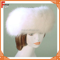 Top Quality Natural Fox Fur Headband