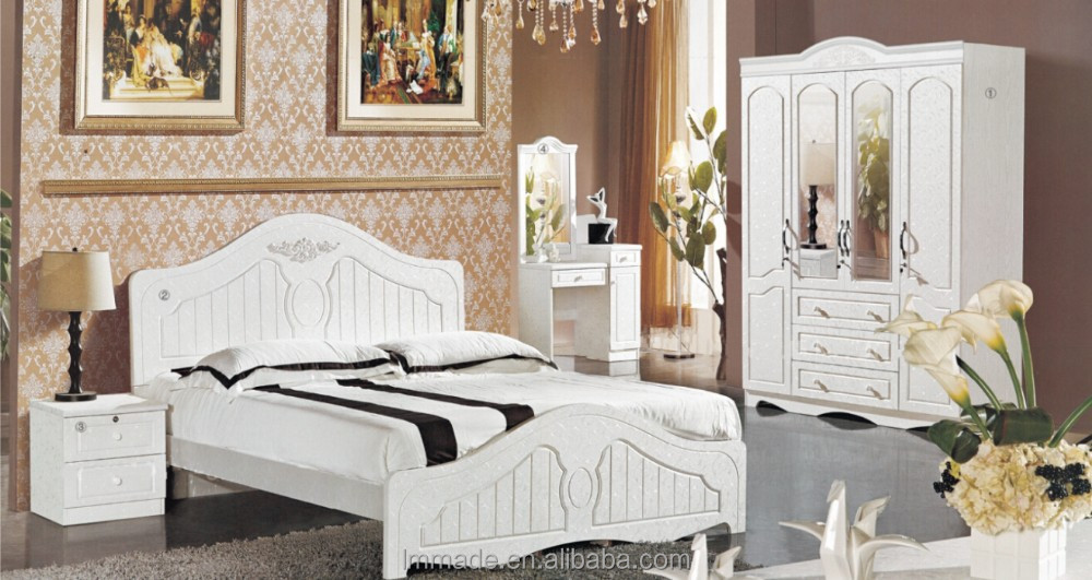 White glossy bedroom,bedroom set guangzhou,good quality bedroom set