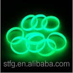 Hot promotion EN20471 cheap PVC reflective slap band,reflective snap band/slap bracelet /glow in the dark bracelet
