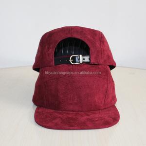 089303a2fc7e4 Suede 5 Panel Hat