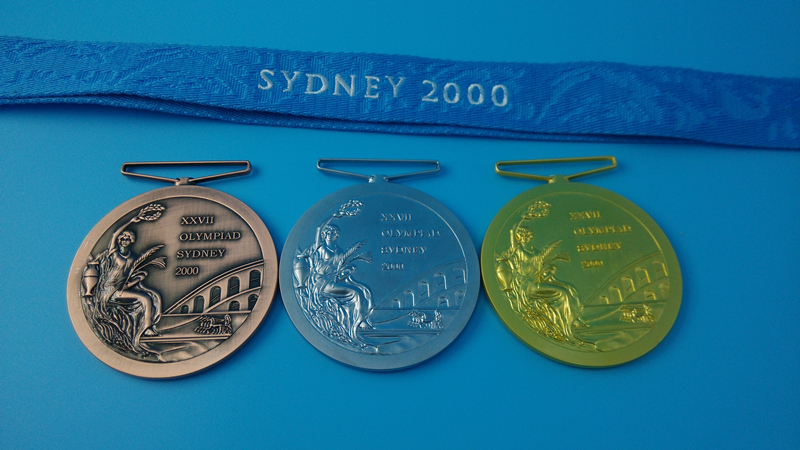 sydney 2000 olympic coin gymnastics games - photo#16