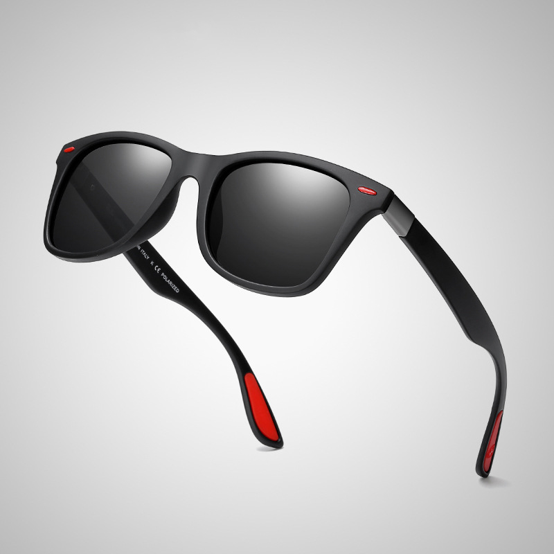 Jaspeer Classic driving square polarized sunglasses 2018 HIgh Quality Brand Designer Fashionable Sunglasses men UV400 фото