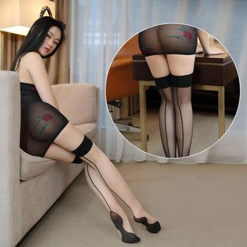 high High Stockings Sheer Hosiery Tights Nylon Pantyhose