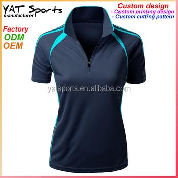 efb31215b Custom Design Sports Wear Tops For Women Table Tennis T Shirt ...