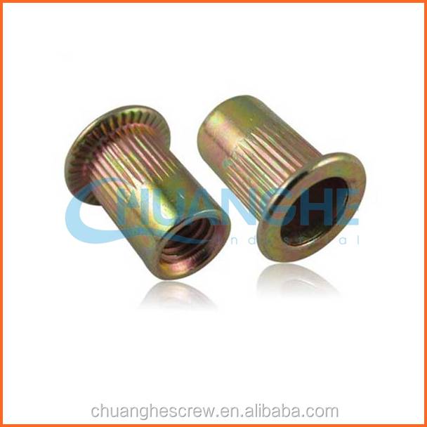 china supplier customized hex round coupling nuts