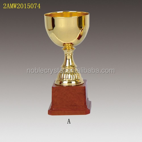 Super Bowl trophy metal cup award for sports games