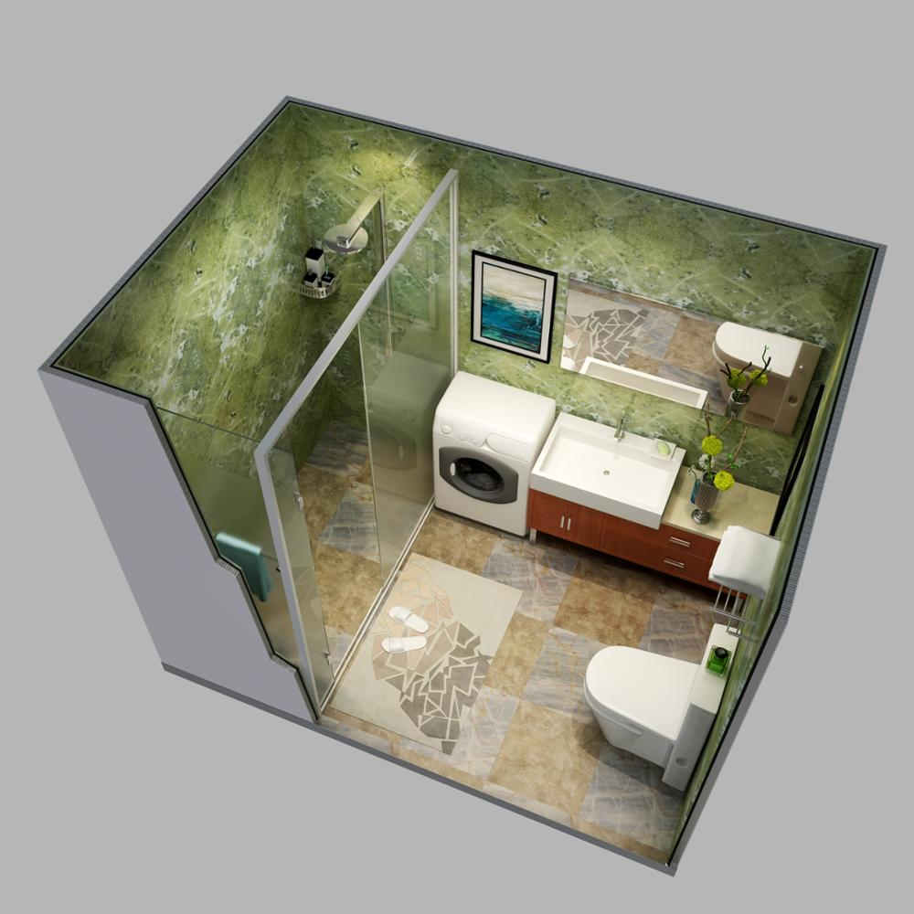 Luxury bathroom design tiny houses prefabricated homes modern, prefabricated houses india