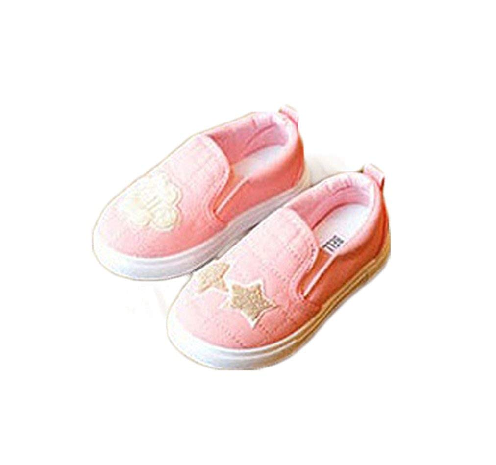 Bakerdani 2017 Style Fashion Autumn Childrens Casual Flat Shoes for Boys Girls Kids