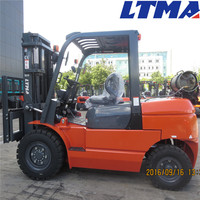 Good quality LTMA brand 4 ton lpg forklift prices