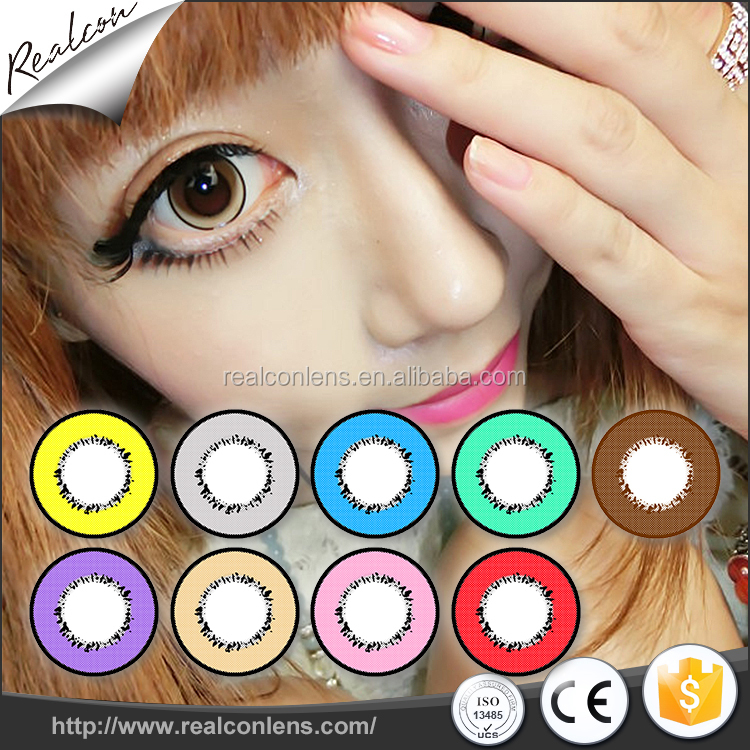 Soft Splendid Colored Contact Lenses Supplier