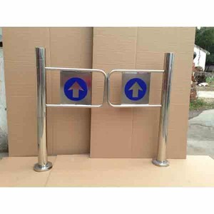 Supermarket security entrance gate used for door access control