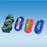 silicon auto cigarette lighter cases, silicone lighter cover