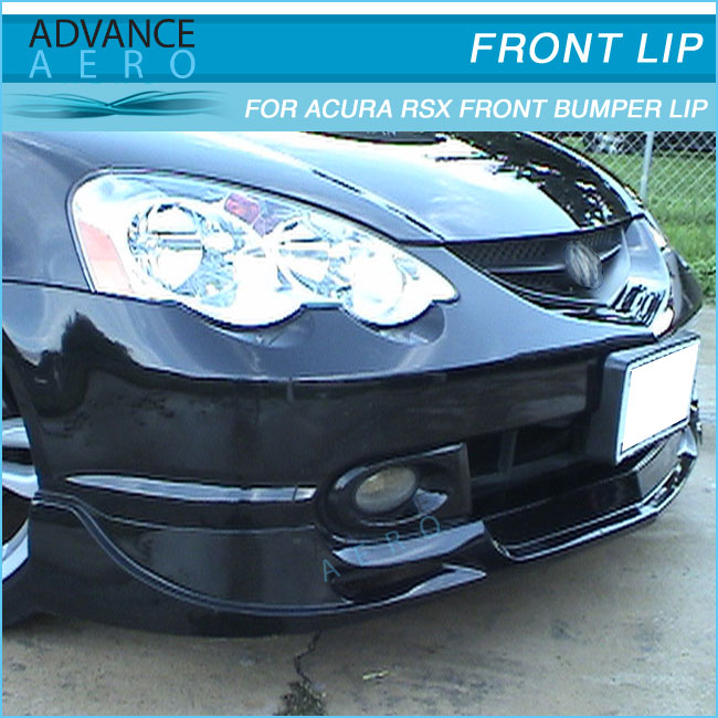 For Acura Rsx 02 03 04 Dc5 Type Sport Pu Front Bumper Lip
