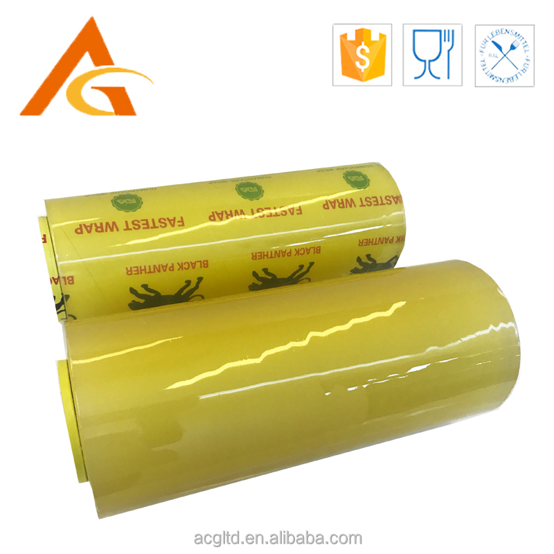 food grade plastic household kitchen use cling wrap PVC packaging <strong>film</strong>