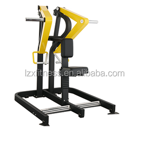 plate loaded free weight machine low row commercial fitness machine