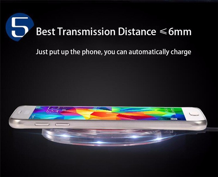Mobile Phones Wireless Charger Qi Compatible Induction Charging Mat