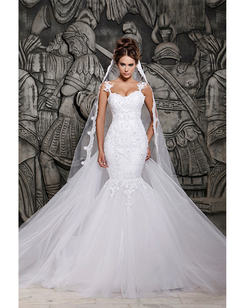 Online Buy Wholesale Rhinestone Wedding Dress Mermaid From
