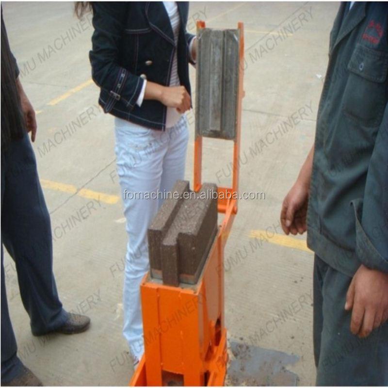 manual interlocking brick making machine in kenya