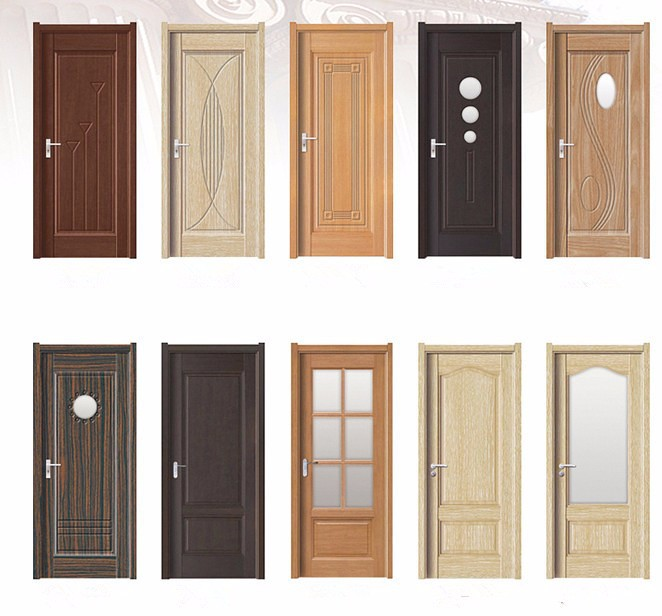 Pvc Mdf Plastic Wooden Interior Doors With Glass Inserts Buy Pvc