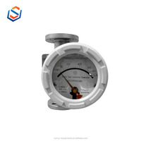 Metal tube variable area rotor flowmeter water flowmeter