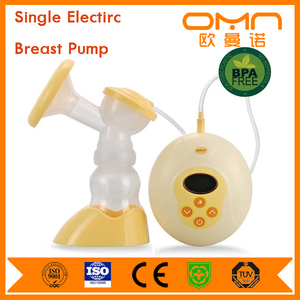Medical grade Oem vacuum electric breast pump manual wholesale bpa hands free silicone single breast pump