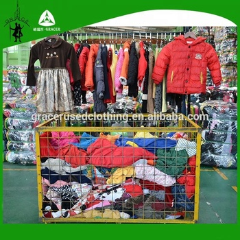 c1734117c8 Clean Recycle Sorted Children Winter Wear Baled Clothing Selling Old Clothes
