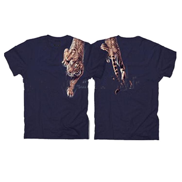 उच्च गुणवत्ता OEM शर्ट कपड़े पुरुषों के दौर गर्दन कपास टी शर्ट