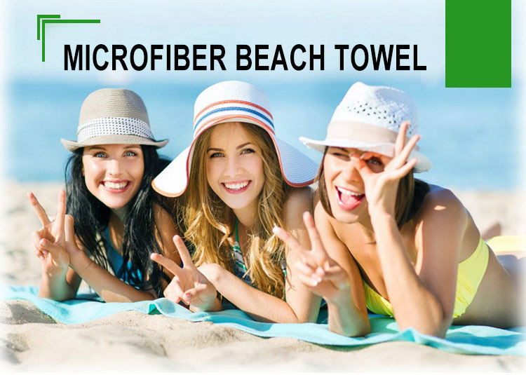 Hot sale personalized microfiber round beach towel