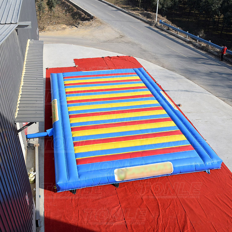 Customized inflatable jump pad/ bounce pad/ jump pillow for kids