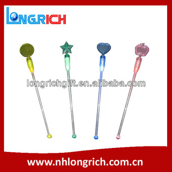 Promotion led cocktail stirrer