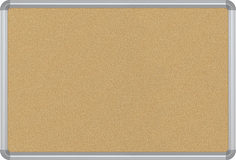 Best-Rite VT Logic Takboard Presidential Trim, Silver, 2 x 3 feet (E301PB)