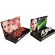 Custom Logo Makeup Mac Cosmetic pdq box cardboard counter display Stand for Eyelash