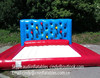 Hot Selling Inflatable Punch Wall with a large landing pad,Inflatable Boxing Batak Wall Bouncy Castle for kids
