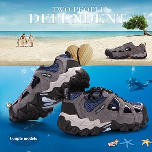 a101cd389 Factory Direct Men Outdoor Shoes Summer Breathable Air mesh Sport Cheap  Hollow Sandals
