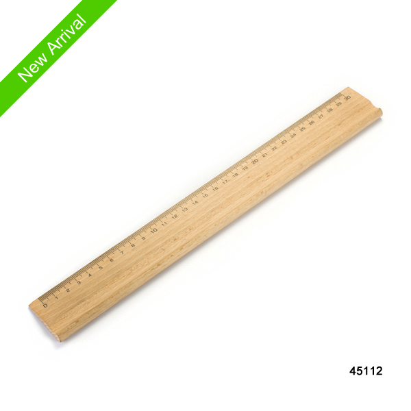 Most popular design rulers 30cm wooden rulers