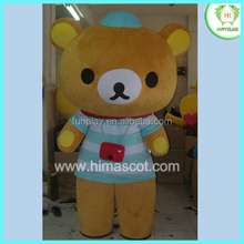 HI CE cartoon rilakkuma mascot costumes, mascot costumes for sale