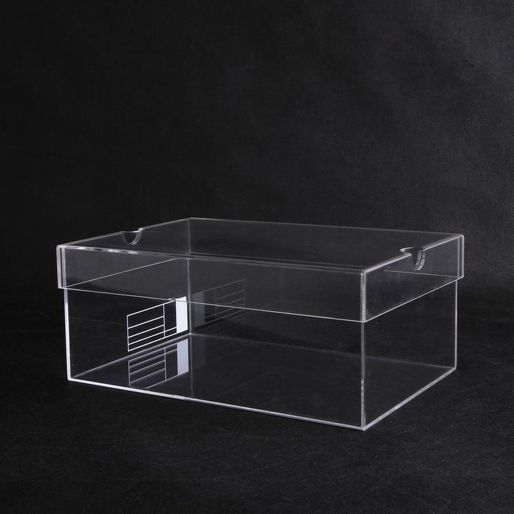 High Quality Acrylic Shoe Display Box Acrylic Sneaker Box