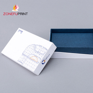 Gold Jewelry Diy Kraft Paper Box With Handle Eyeliner Bottle Packaging