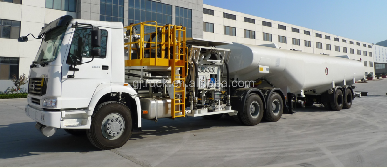 Aircraft Refueller truck or jet refuelling trailer for air port air plane refuelling