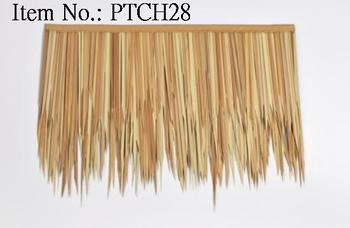 Non Flammable PVC Roofing Palm Thatch. Reed Thatch. Tiki Bar. Gazebo Tiki