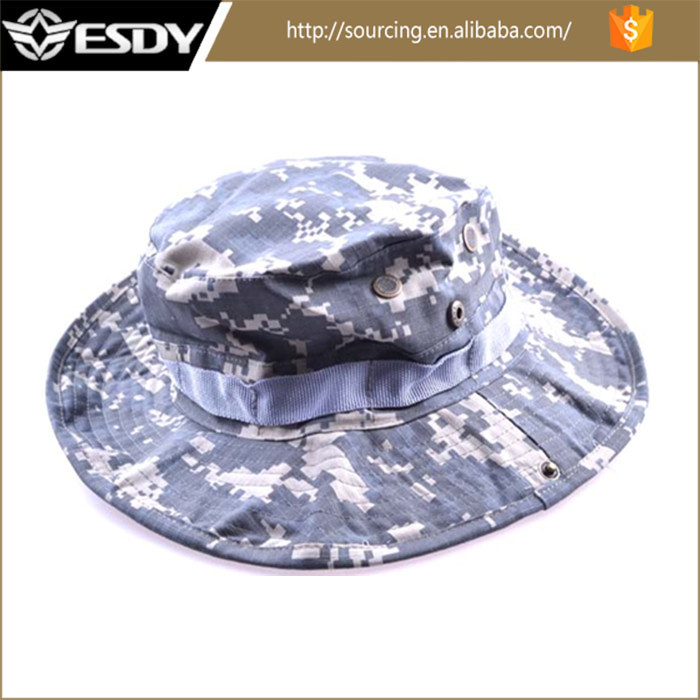 CLASSIC US ARMY GI STYLE BOONIE JUNGLE HAT RIPSTOP COTTON